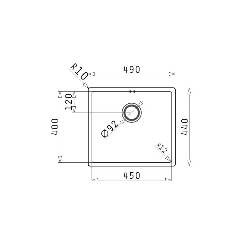 Sudopera ASTRIS R12 (45X40) 1B_P shema